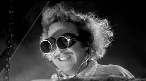 When I was a kid, I really wanted to be a mad scientist. But couldn't find a college that offered that as a major.